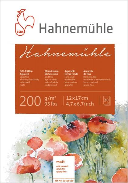Hahnemühle | Echt-Bütten Aquarellpapier | 200 g/m² | matt