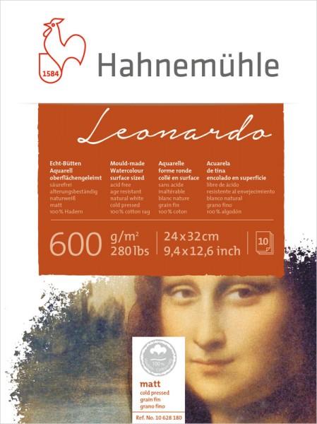 Hahnemühle   Echt - Bütten Aquarellkarton   Leonardo   matt