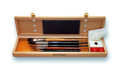 da Vinci AQUARELL - Malpinselset | in der Pinselschatulle 4022 | Serie 5240