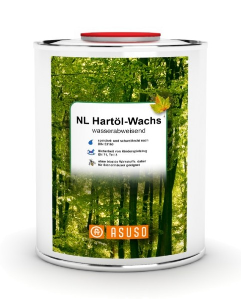 Asuso NL Hartöl - Wachs | seidenglänzend