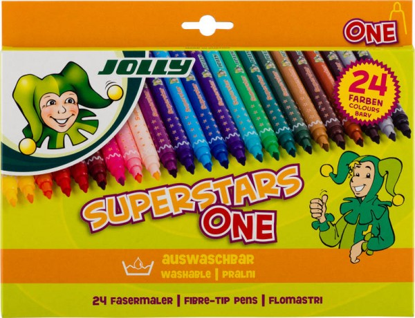 JOLLY Superstar ONE | sortiert | 24er-Kartonetui